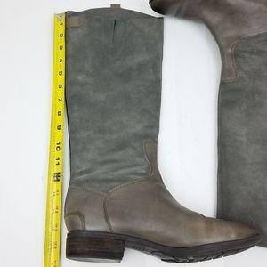 Sam Edelman Gray Pembroke riding boots size 9